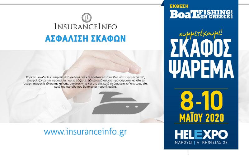 Insurance Info – Ασφάλειες Σκαφών (Φωτογραφία)